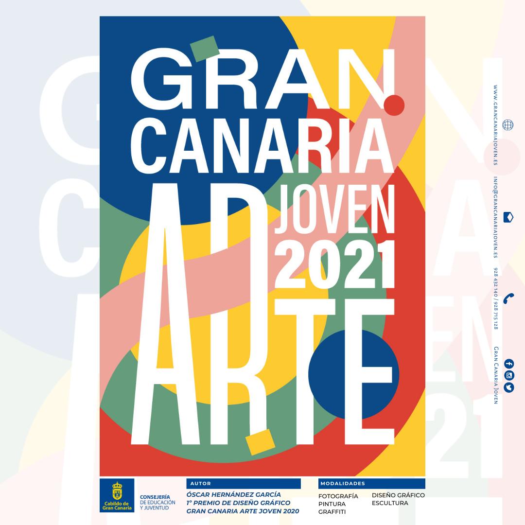 Convocatoria Del Concurso Gran Canaria Arte Joven 2021 Gran Canaria Joven Consejería De Educación Y Juventud Del Cabildo De Gran Canaria
