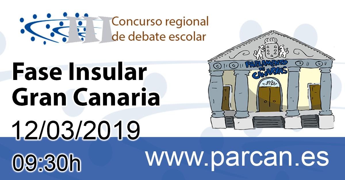 Concurso debate escolar 2019
